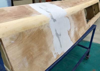 prototipazione timoneria carteggio e stuccatura
