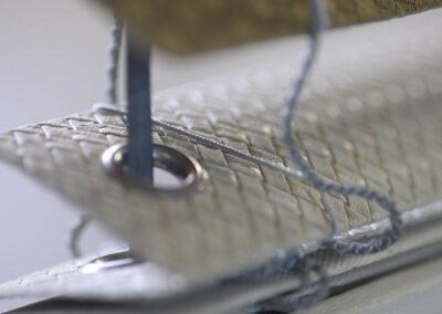 veneziana rivestita in majilite stampa geometrica