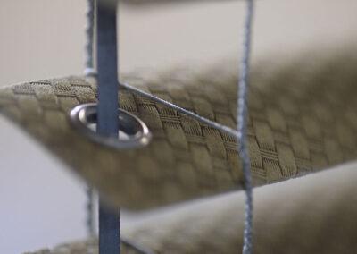 veneziana rivestita in majilite stampato